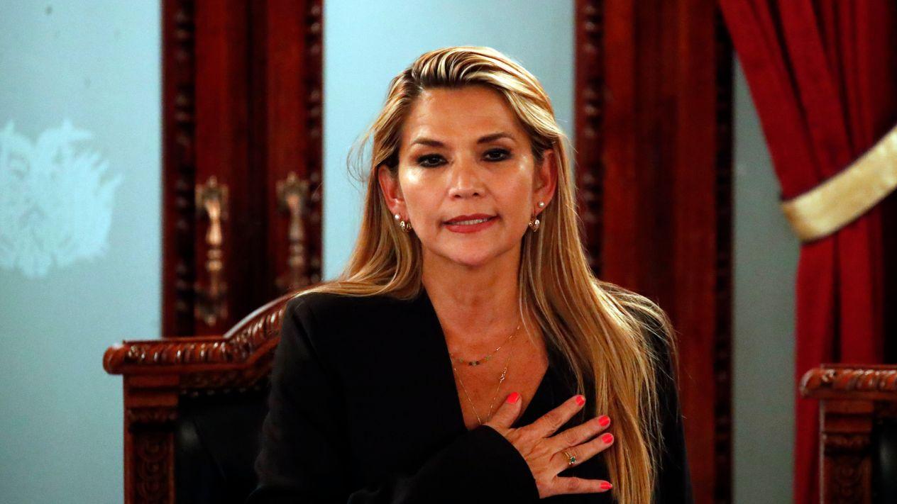 Jeanine Áñez asumió como presidenta interina de Bolivia