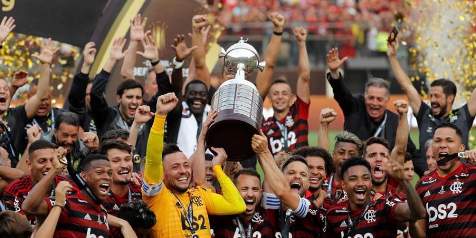 Flamengo es campeón de la Copa Libertadores