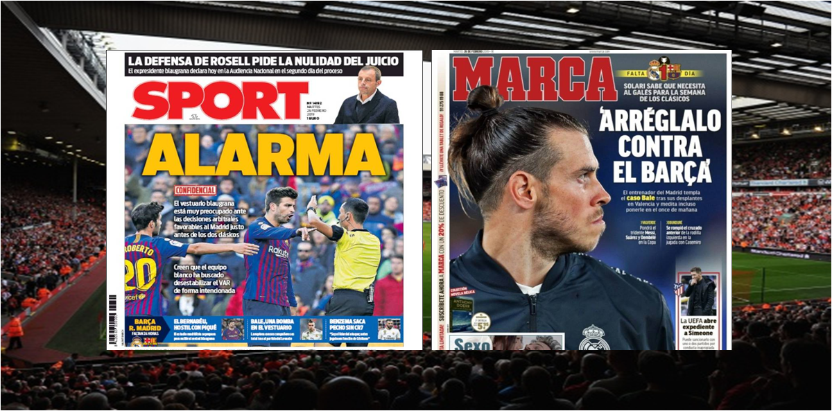 Repasa las Portadas de la Prensa Deportiva de hoy #26Febrero