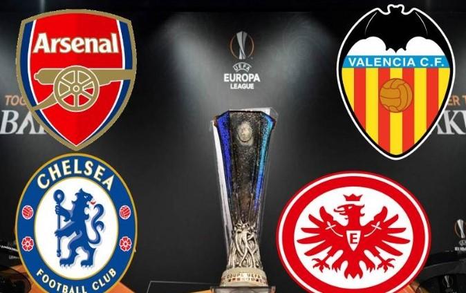 Así se jugarán las semifinales de la Europa League
