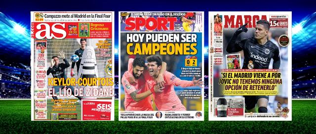 Mira las Portadas de la Prensa Deportiva de hoy #24Abril