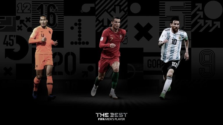 Hoy se entregan los premios The Bets FIFA 2019