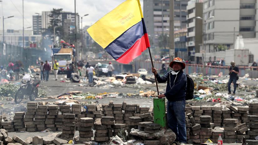 Terminan manifestaciones en Ecuador tras dejar sin efecto el Decreto 883
