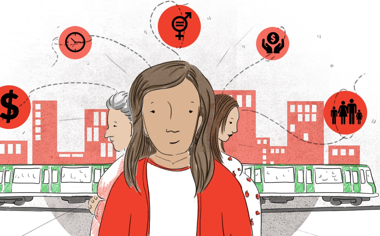 ¿Tienen mejores empleos las mujeres con acceso a transporte público rápido y seguro?
