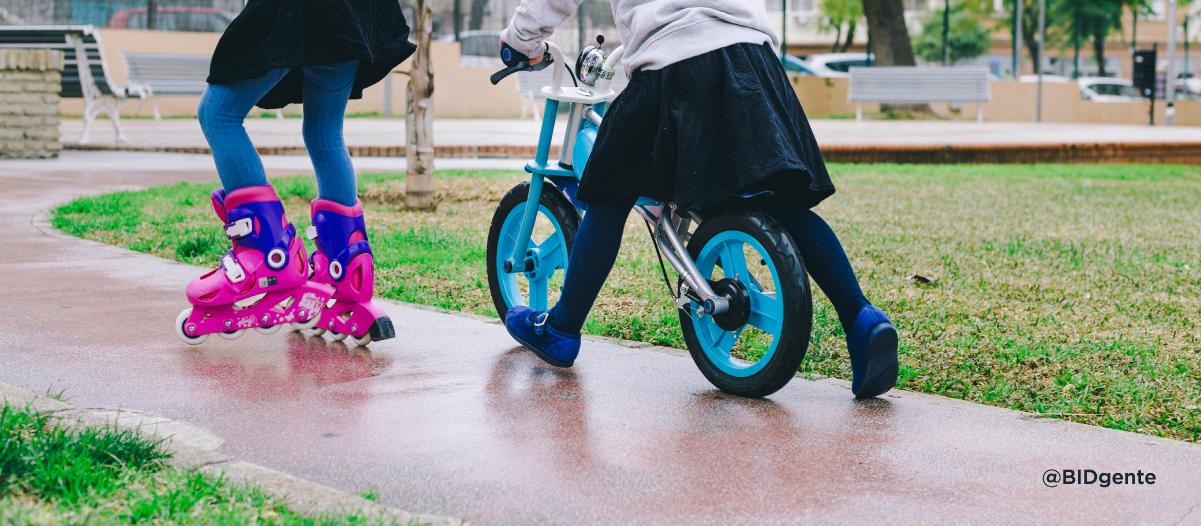 Si tuvieras la estatura de un niño de tres años, ¿cómo diseñarías tu ciudad?