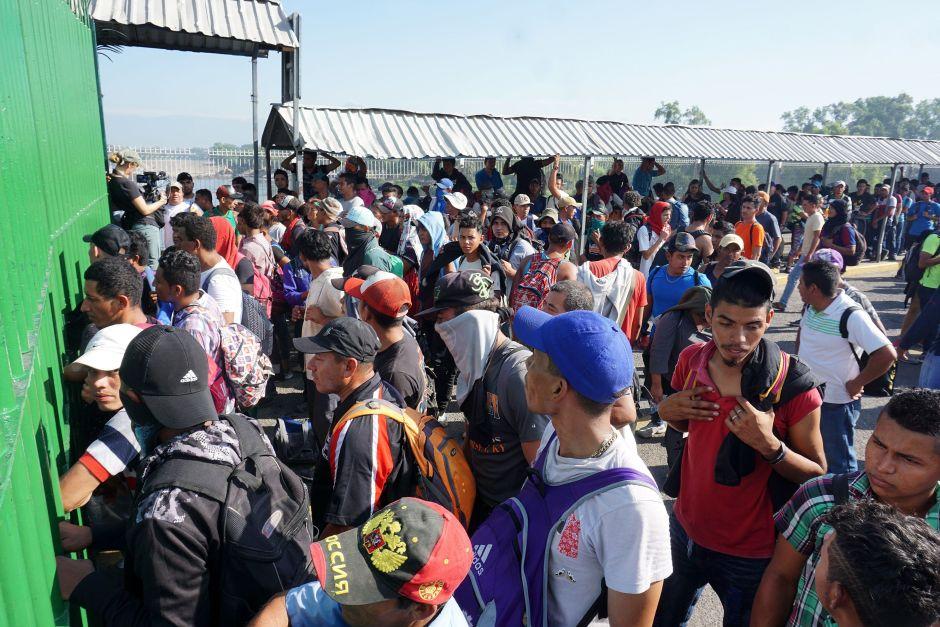 Caravana migrante desata nueva crisis en México por acuerdos conEEUU