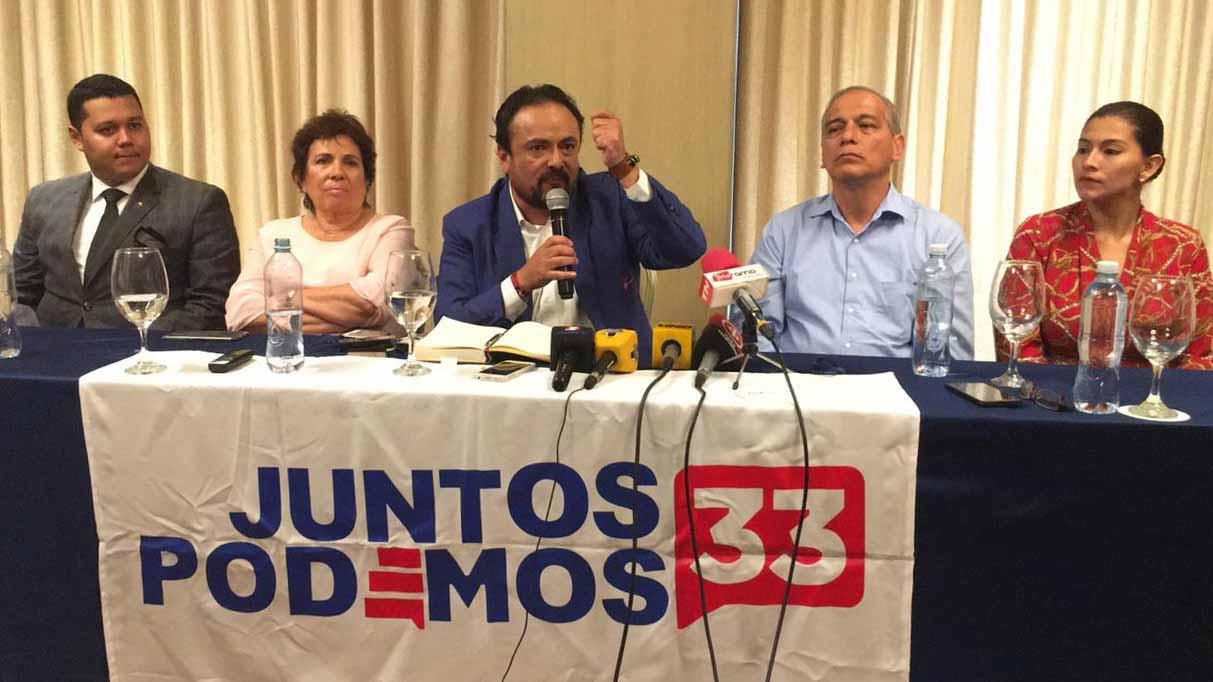Movimiento Juntos Podemos propuso a Paúl Carrasco como precandidato presidencial