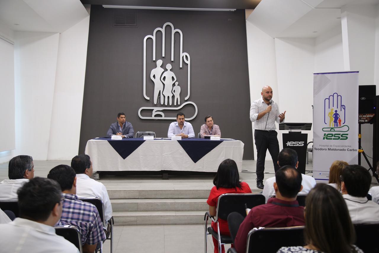 Dirección Provincial del IESS interviene el HTMC