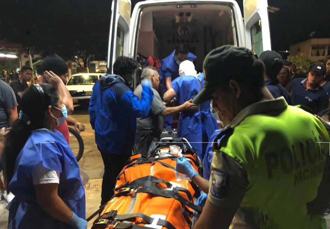 Tres heridos por explosión en embarcación pesquera fueron rescatados en Galápagos
